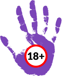 Stop hand over 18