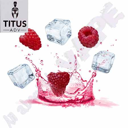 Raspberry Ice 10ml by Titus ADV