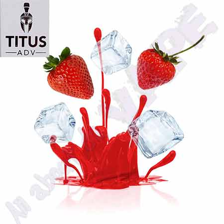 Strawberry Ice 10ml by Titus ADV