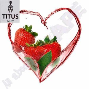 Strawberry Sensation 10ml by Titus ADV