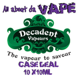 Decadent Vapours Case Deal (Tobacco)